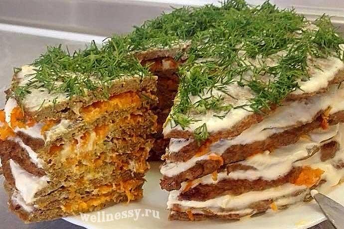 Диета дюкана печеночный торт