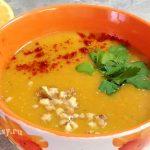 Миниатюра к статье Постный суп из красной чечевицы